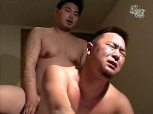 【ゲイ動画】ガチムチなクマ系イケメンとソフトマッチョな筋肉イケメンが褌姿の雄交尾でねっとりフェラテク披露!