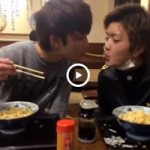 【Vine動画】スリムなジャニーズ系美少年二人がうどんキスでイチャイチャ♪