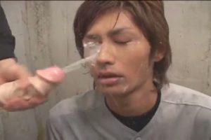 【ゲイ動画】ジャニーズ系スリム筋肉イケメンが巨根褌野球するその吸引力たるや! dandan