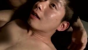 【ゲイ動画】垂れ目のイケメン青年、二度目の撮影は最初から巨根フル勃起! アナル挿入で自ら激しく腰を振る!