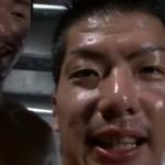 【ゲイ動画】マシントレーニングの最中に筋肉イケメンが乳首ちゅっちゅ! 二人のマッチョが肉体美見せつけアナルセックス!
