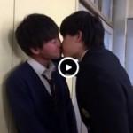 【Vine動画】ジャニーズ系美少年同士が壁ドンからのBLキスで教室大絶叫w