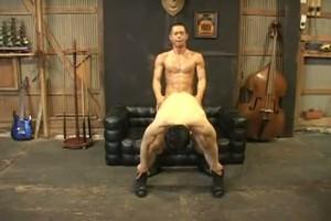 【ゲイ動画】スーパー筋肉イケメンが鉄魔羅で駅弁ファック! 巨根駆使したパワープレイの連続! IKUZE08