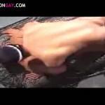 【ゲイ動画】スジ筋イケメンと筋肉ゴーグルマンが野獣リバファックで巨根を叩きつける!