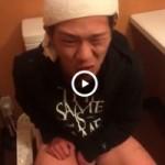 【Vine動画】下痢で苦しみながら便器に座るやんちゃ系イケメンを笑いながら撮影する鬼畜がおるw