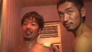 【ゲイ動画ビデオ】髭の筋肉マッチョイケメンと旅館でまったりBLイチャイチャ浴衣エッチとか最高かよ!