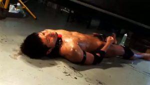 【ゲイ動画】捕獲したやんちゃ系筋肉マッチョイケメンを鎖に繋いで野郎達のオナペット化する鬼畜輪姦ファック!