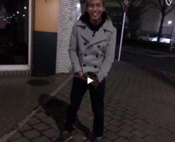 【Vine動画】ジャニーズ系イケメンが路上で巨根放尿ショーw
