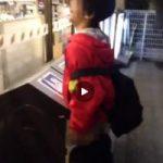 【Vine動画】上級者のジャニーズ系童顔イケメンは、コンビニごみ箱の穴にも欲情しちゃうんだぜ!