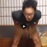 【Vine動画】眼鏡イケメン男子がパンツを勢いよく破り捨て巨根を披露するw