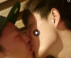 【Vine動画】やんちゃ系イケメン二人が窒息寸前までキスをするチャレンジ!