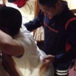 【Vine動画】ガチムチマッチョの坊主イケメンくんが友達の筋肉イケメンくんを立ちバックファックしようとして…w