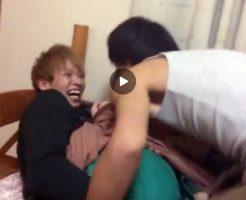 【Vine動画】大晦日、ジャニーズ系スリム美少年にアナルセックスをせがむ筋肉イケメンw