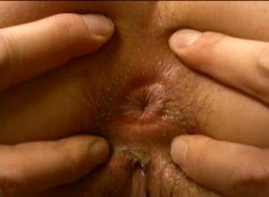 【ゲイ動画ビデオ】巨乳美女にスリ筋髭イケメンが巨根をハメまくる激震抽送ノンケセックス!
