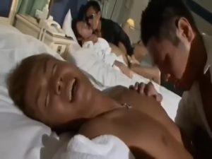 【ゲイ動画】マンネリ化したジャニーズ系筋肉美少年のゲイカップルに、マッチョ系イケメンを混ぜスワッピング乱交というカンフル剤を与えてみた結果w