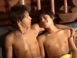 【ゲイ動画】「僕とつき合ってよ」潤んだ瞳の筋肉美少年に告白されたやんちゃ系マッチョイケメンくん、早速肉棒でその答えを出すイチャイチャBLドラマ♪