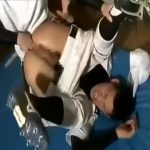 【ゲイ動画】筋肉マッチョイケメン野球部員の更衣室ゲイセックス!顔射でぶっかけの後はお掃除フェラまでしちゃう♪