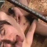 【ゲイ動画】タッキー激似のジャニーズ系スリ筋イケメンがハイエース! 拘束されてイマラチオ責め、そして輪姦されまくりの地獄が待っていた!