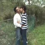 【ゲイ動画】33歳の筋肉イケメン会社員リアルカップルが遊園地でイチャイチャ、野外フェラ、そしてホテルでソフトSMゲイセックスで大人の休日を満喫♪