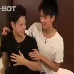 【ゲイ動画】まだ経験の少ないEXILE系筋肉イケメンを、優しいお兄さんがゲイセックスに導き雄汁ぶっかけ!
