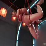 【ゲイ動画】筋肉眼鏡イケメンヒーローを拘束してオナホマシーン、アナル掘削マシーンで昇天させる凌辱に突き落とす!