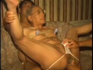 【ゲイ動画ビデオ】老いて益々盛んにも程がある! 亀甲縛りされたおじいちゃんがフィストファックで悶え、お掃除フェラで巨根を貪欲おしゃぶり!