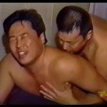 【ゲイ動画】ガチムチ中年親父の本気手コキ、そしてアナル舐め! ビンビン勃起した巨根からねっとり濃厚なザーメンが噴出するまでシコシコを止めない!