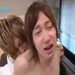 【ゲイ動画】乳首と背中に舌を這わせただけでこのアヘ顔! ジャニーズ系スリム美少年の濃厚ねっとり前戯のBLエッチ♪
