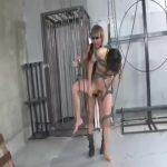 【ゲイ動画】ジャニーズ系スリ筋美少年がEXILE系筋肉イケメンを拘束し吊り下げ、スパンキング調教の正統派SM!