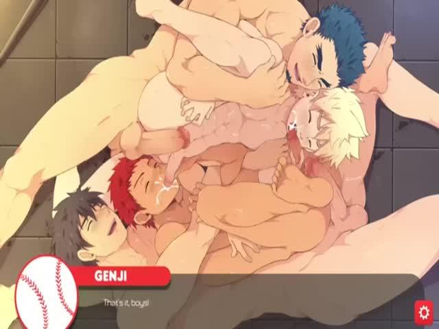 【ゲイ動画】野球部の筋肉イケメン、ジャニーズ系美少年たちのセックス模様! 巨根をはめられトロ顔中出し絶頂に悶える虹のイケメンたち!