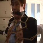 【ゲイ動画】先輩のちんぽが欲しい! 筋肉イケメン後輩を亀甲縛りにしてガン突き巨根連打! 揺れるペニスから零れる先走り汁!