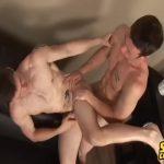 【ゲイ動画】筋肉外国人イケメン、スジ筋イケメンが、ベロキスからの濃厚ゲイセックス! 盛り上がった腹筋、胸筋にたっぷりぶっかかるザーメン!