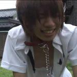 【ゲイ動画】近所のジャニーズ系スリ筋美少年DKを性のはけ口にして青姦を楽しむ坊主筋肉イケメン!