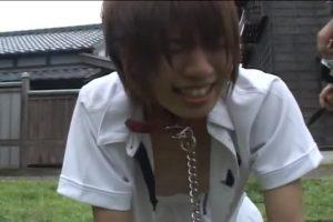 【ゲイ動画ビデオ】近所のジャニーズ系スリ筋美少年DKを性のはけ口にして青姦を楽しむ坊主筋肉イケメン!