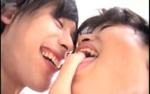 【ゲイ動画ビデオ】倒錯BLセックスの極致!ジャニーズ系スリ筋美少年が唾を飲ませ合って中出しファックにトロ顔が止まらない!