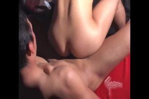【ゲイ動画ビデオ】美味しそうなプリケツがクイクイ動くピストンがいやらしい! 筋肉マッチョイケメンの巨根連結ファック!