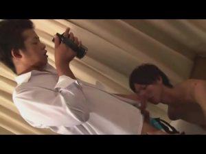 【ゲイ動画ビデオ】筋肉マッチョイケメンDKがジャニーズ系スリ筋美少年DKのBLエッチをハメ撮り激写!