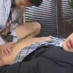 【ゲイ動画】ジャニーズ系スリ筋美青年リーマンが筋肉スーツイケメンのアナルを掘削ファック!