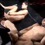 【ゲイ動画】EXILE系スジ筋イケメン二人をご主人様がオラオラ調教! 騎乗位でケツマンを掘られながらバキュームフェラでちんぽを吸われる淫欲地獄!