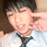 【ゲイ動画】神待ち円光希望なジャニーズ系スリ筋美少年DKをカラオケ店に連れ込んで、フェラ奉仕させたりオナニーでイク瞬間を眺める♪