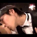 【ゲイ動画】しゃれたバーにやって来た童顔イケメンくん、ジャニーズ系スリ筋美少年バーテンダーに酔って店内立ちバックエッチにハッテン!