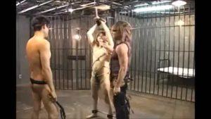 【ゲイ動画】無残! 捉えられたジャニーズ系筋肉美少年が二人のガチムチマッチョ野郎にスパンキングや剃毛され肉人形に仕立て上げられる狂気!