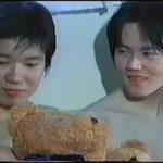 【ゲイ動画】可愛すぎて尊いジャニーズ系スリ筋美少年たちのBLな3Pエッチはイチャイチャキュート♪