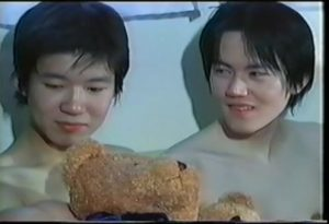 【ゲイ動画ビデオ】可愛すぎて尊いジャニーズ系スリ筋美少年たちのBLな3Pエッチはイチャイチャキュート♪