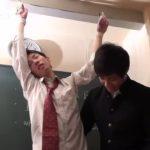 【ゲイ動画】誰もいない教室で、ジャニーズ系スリ筋美少年がオラオラ系イケメンくんに拘束されSM立ちバックで犯される容赦ない調教レイプ!