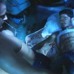 【ゲイ動画】ヒッチハイクで筋肉マッチョイケメンが捕まえたのは、トラック野郎のイケオジ中年クマ系マッチョ♪