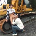 【ゲイ動画】33歳のガチムチイケメンサラリーマンとスリ筋イケメンが遊園地デート。野外フェラ、巨根を絡め濃厚ファック!