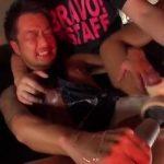 【ゲイ動画】やんちゃそうなタトゥーを入れたマッチョイケメンノンケのアナルに、玩具や浣腸の悪戯をしたちんぐり返しでイカせるドSゴーグルマン!