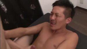 【ゲイ動画ビデオ】やんちゃ系筋肉ノンケイケメンがゲイセックス初タチに挑戦したら、巨根を突っ込んでるのにアヘ顔になっちゃったよ!