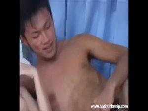 【ゲイ動画ビデオ】やんちゃ系筋肉イケメンノンケが正常位でセックスしている隙に、ケツマンをたっぷりしゃぶるスタッフwww